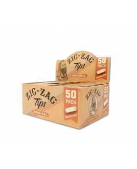 ZIG ZAG TIPS UNBLEACHED 50CT