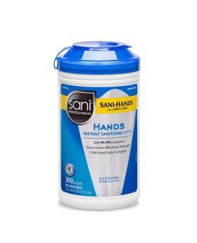 HAND SANITIZING WIPES SANI 300CT