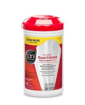 SANI SANITIZING WIPES 175CT