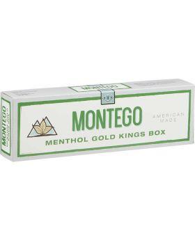 MONTEGO MENTHOL GOLD KING BOX