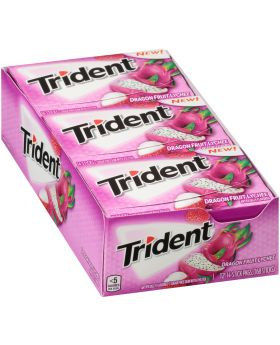 TRIDENT VALUE DRAGON/LYCHEE 12CT