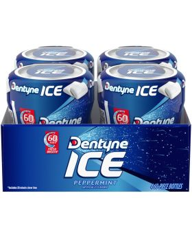 DENTYNE ICE 60pc PEPPERMINT 4 CT