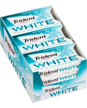 TRIDENT WHITE WINTERGREEN 9 CT