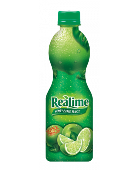 REAL LIME JUICE 8 OZ 12CT