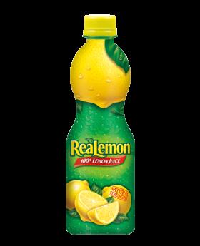 REAL LEMON JUICE 8 OZ 12CT