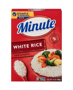 MINUTE WHITE RICE 14OZ