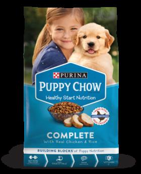 PURINA PUPPY CHOW 4 LBS