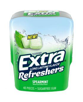 EXTRA REFRESHER SPEARMINT 40pc6C