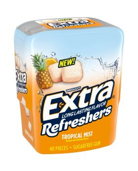 EXTRA REFRESHER TROPICAL 40pc6CT