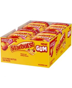 STARBURST GUM ORIG BOTTLE 8CT