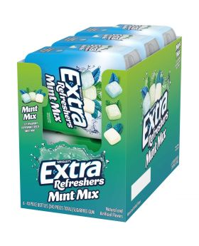 EXTRA REFRESHER MINT MIX 40PC6CT