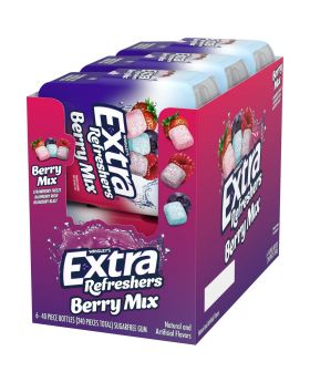 EXTRA REFRESHER BERRY MIX 40PC6C