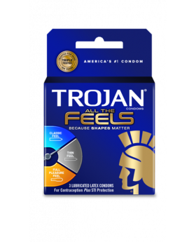 TROJAN FEELS 6 CT