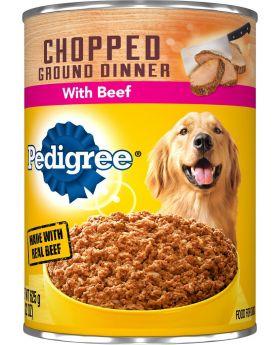 PEDIGREE CHOPPED BEEF CAN 13.2OZ