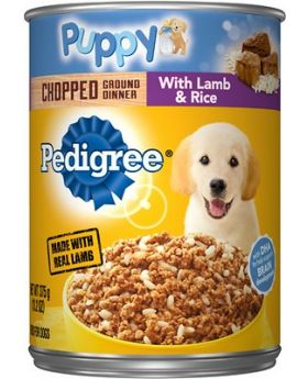 PEDIGREE PUPPY LAMB & RICE 13.2