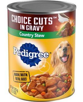PEDIGREE CUTS STEW CAN 13.2OZ