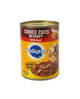 PEDIGREE CUTS BEEF CAN 13.2OZ