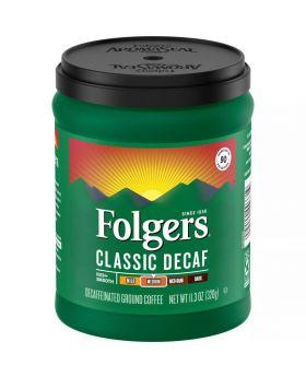 FOLGERS  DECAF COFFEE 11.3OZ