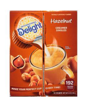DELIGHT HAZELNUT CREAMER 192CT