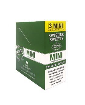 SWISHER MINI 15/3PK GREEN SWEET