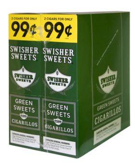 SWISHER 2F99 GREEN SWEET 30/2PK