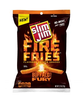 SLIM JIM FIRE FRIES FURY 2.75oz