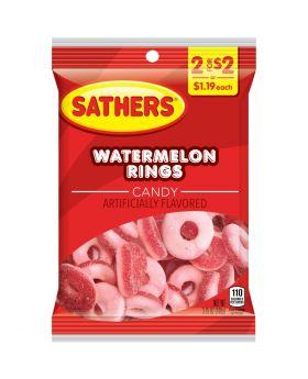 SATHER GUMMI MELON RING 2F$2 12C