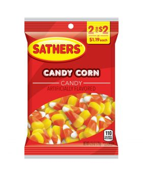 SATHER CANDY CORN 2F$2 12CT