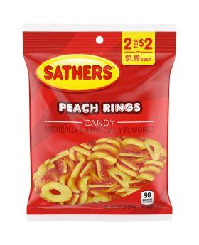 SATHER GUMMI PEACH RING 2F$2 12C