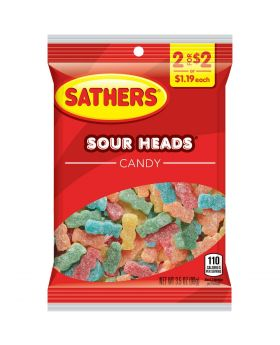 SATHER SOUR HEADS 2F$2 12CT