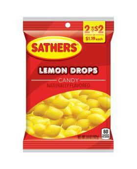 SATHER LEMON DROPS 2F$2 12 CT