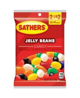 SATHER JELLY BEANS 2F$2 12 CT