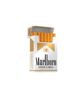 MARLBORO GOLD LABEL KING BOX