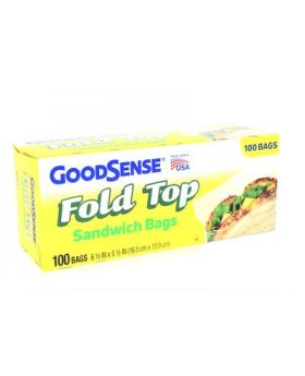 GOOD SENSE SANDWICH 100BAG 1CT