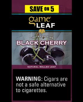GAME LEAF BLACK CHERRY 8/5PK