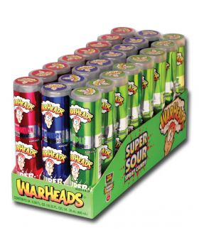 WARHEAD SOUR SPRAY CANDY 12 CT