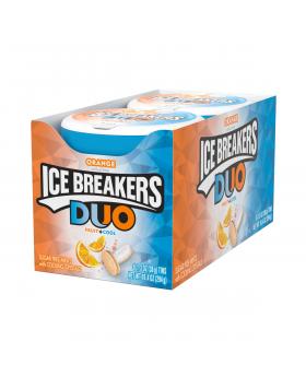 ICE BREAKER DUO ORANGE 8 CT