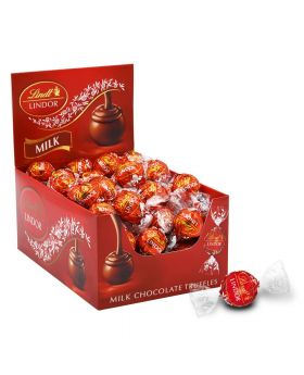 LINDT MILK CHOCOLATE TRUFFLE 60C