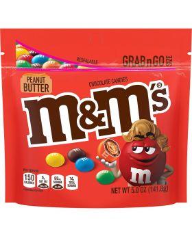 M & M PEG PEA/BUTTER GO PK 5OZ