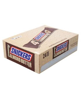 SNICKERS ALMOND BUTTER K/S 24 CT