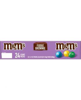 M & M FUDGE BROWNIE 24 CT