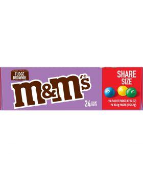 M & M FUDGE BROWNIE KING 24 CT
