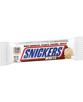 SNICKERS WHITE REGULAR 24 CT