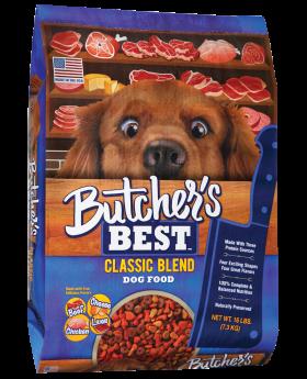 BUTCHER'S BEST DOG FOOD 4LB