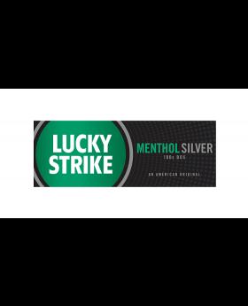 LUCKY STRIKE MEN/SIL 100 BOX 10C