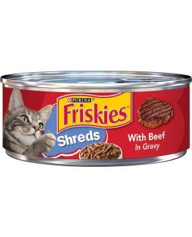 FRISKIES BEEF IN GRAVY SHRE 5.5o