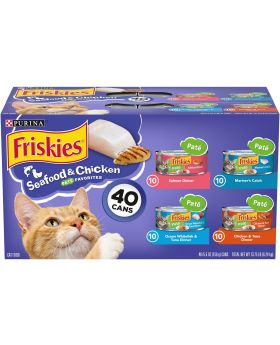 FRISKIES PATE ASSORTED 40CANS