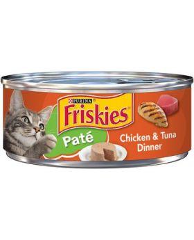 FRISKIES CHICKEN & TUNA DINN 5.5