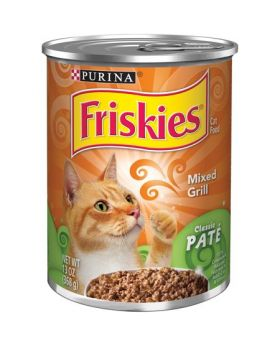 FRISKIES PATE MIXED GRILL 13OZ