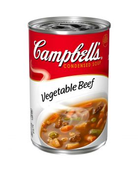 CAMPBELL VEG BEEF SOUP 10.5OZ